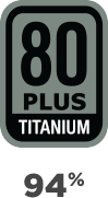 80+ Titanium